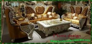 Kursi tamu sofa klasik